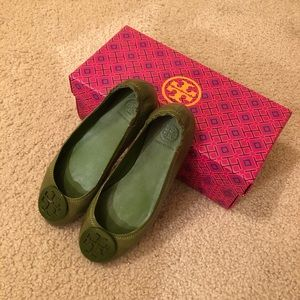 Tory Burch Travel Logo Ballet Flats